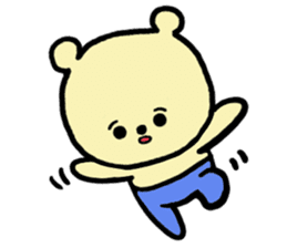 Kuma Goro sticker #2139662