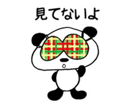He is a panda. sticker #2140068