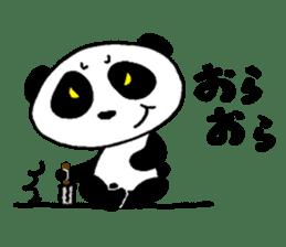 He is a panda. sticker #2140075