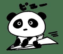 He is a panda. sticker #2140084