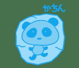 He is a panda. sticker #2140085