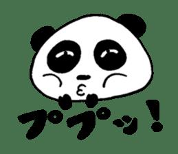 He is a panda. sticker #2140096