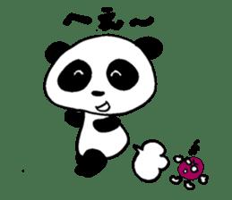 He is a panda. sticker #2140099