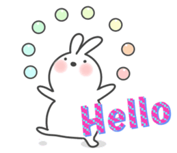 POP POP Rabbit ! (English) sticker #2140145