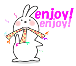 POP POP Rabbit ! (English) sticker #2140147
