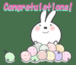 POP POP Rabbit ! (English) sticker #2140148