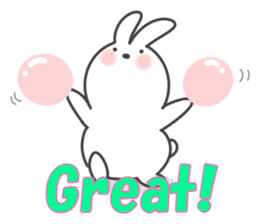 POP POP Rabbit ! (English) sticker #2140149