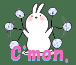 POP POP Rabbit ! (English) sticker #2140150