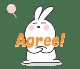 POP POP Rabbit ! (English) sticker #2140151