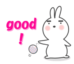 POP POP Rabbit ! (English) sticker #2140153