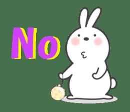POP POP Rabbit ! (English) sticker #2140157