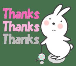 POP POP Rabbit ! (English) sticker #2140160