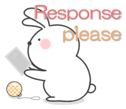 POP POP Rabbit ! (English) sticker #2140166