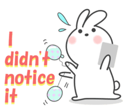 POP POP Rabbit ! (English) sticker #2140167
