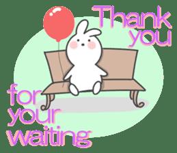 POP POP Rabbit ! (English) sticker #2140168