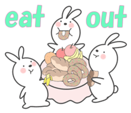 POP POP Rabbit ! (English) sticker #2140170