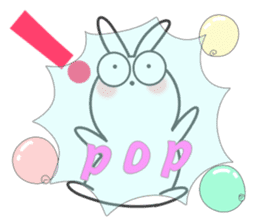 POP POP Rabbit ! (English) sticker #2140172