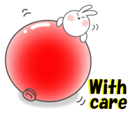 POP POP Rabbit ! (English) sticker #2140177