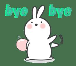 POP POP Rabbit ! (English) sticker #2140180