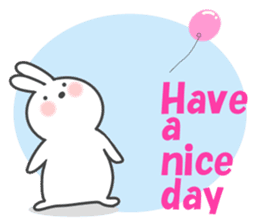 POP POP Rabbit ! (English) sticker #2140181