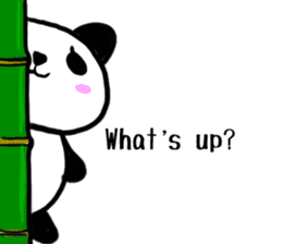 The Shy Panda -English varsion- sticker #2143665