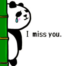 The Shy Panda -English varsion- sticker #2143671