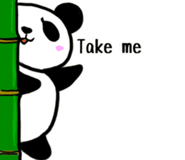 The Shy Panda -English varsion- sticker #2143672