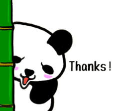 The Shy Panda -English varsion- sticker #2143695