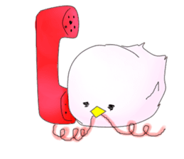 Little bird! sticker #2143893