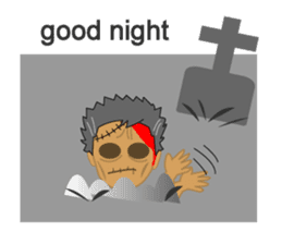 Welcome to Zombie World sticker #2144467