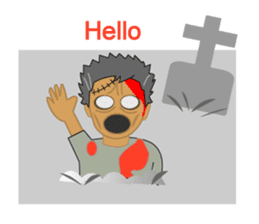 Welcome to Zombie World sticker #2144498