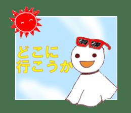 fine weather doll sticker #2144740