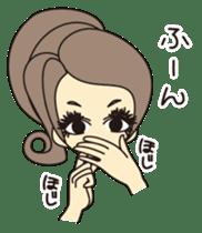 NANIWA OJOSAMA of PRINCESS sticker #2145278