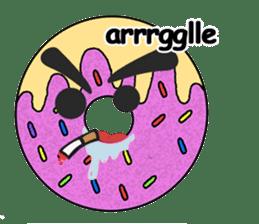 Sprinkles the Donut sticker #2146264
