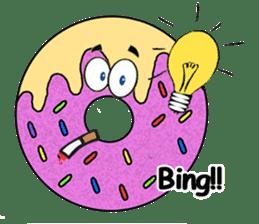 Sprinkles the Donut sticker #2146265