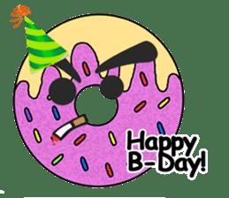 Sprinkles the Donut sticker #2146266