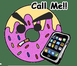 Sprinkles the Donut sticker #2146269