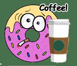 Sprinkles the Donut sticker #2146270