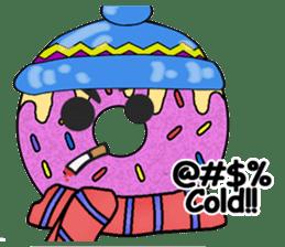 Sprinkles the Donut sticker #2146271