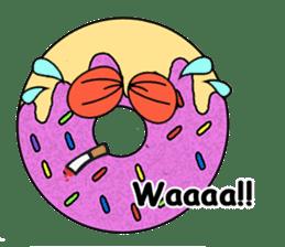Sprinkles the Donut sticker #2146272