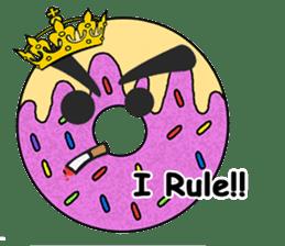 Sprinkles the Donut sticker #2146280