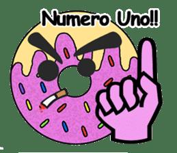 Sprinkles the Donut sticker #2146286