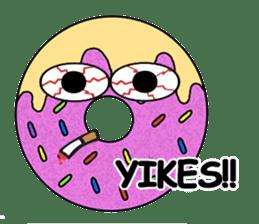 Sprinkles the Donut sticker #2146290