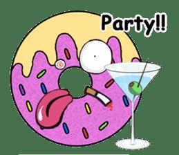 Sprinkles the Donut sticker #2146291