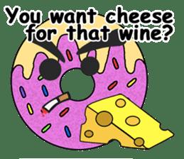 Sprinkles the Donut sticker #2146302