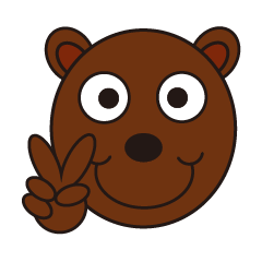Peace Bear ( English )