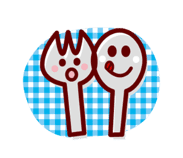 Colorful Face (English) sticker #2147282