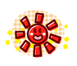 Colorful Face (English) sticker #2147283