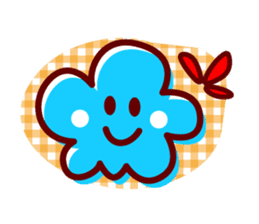 Colorful Face (English) sticker #2147290