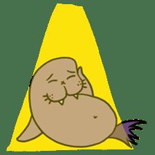 Purple Walrus sticker #2147834